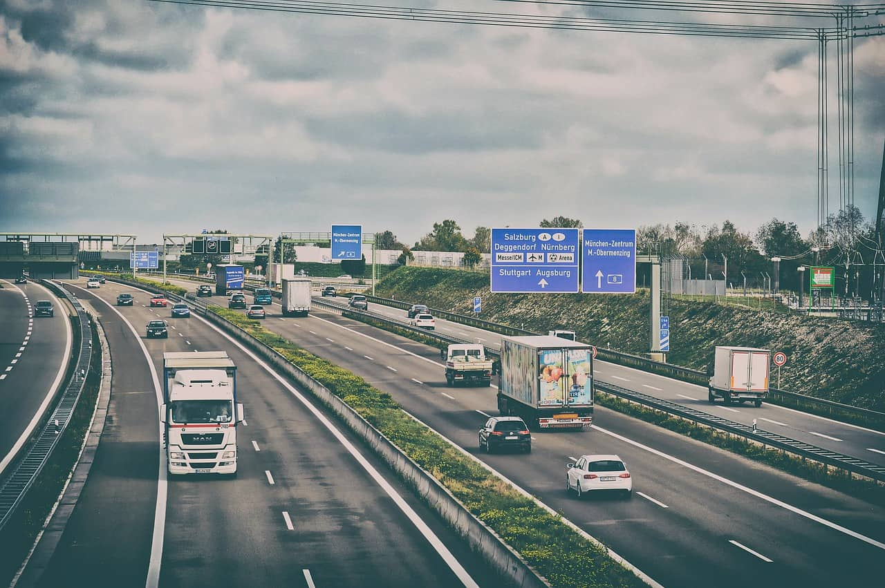 Autobahn LKW